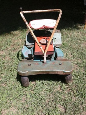 Value of a Vintage Riding Mower