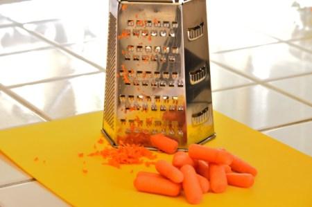 grating carrots