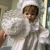 Identifying a Porcelain Doll - baby doll