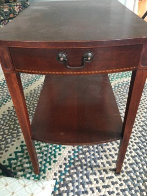 Value of Mersman End Tables - end table with a drawer and shelf