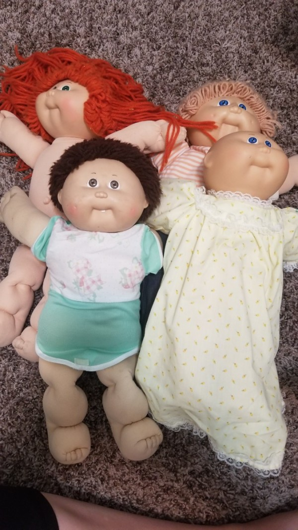 Collector information, identification my cabbage patch kids.