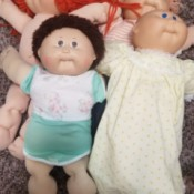Value of Cabbage Patch Kids Dolls - older Cabbage Patch dolls