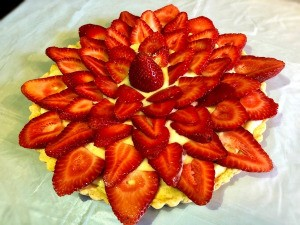 finished Strawberry Tart