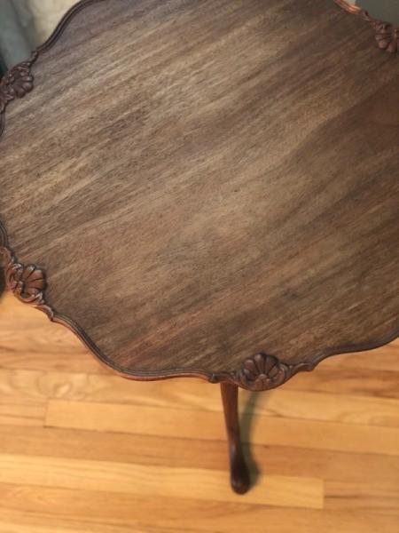 Value of Antique Tilt Top Table