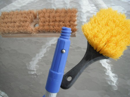 Make Your Own Gutter Guard Sweeper - supplies