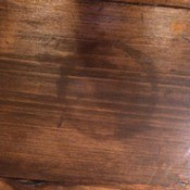 Removing a Water Based Polyurethane Mark on Floor