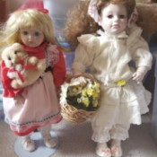 Value of Porcelain Dolls - two dolls