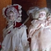 Identifying Porcelain Dolls - two dolls