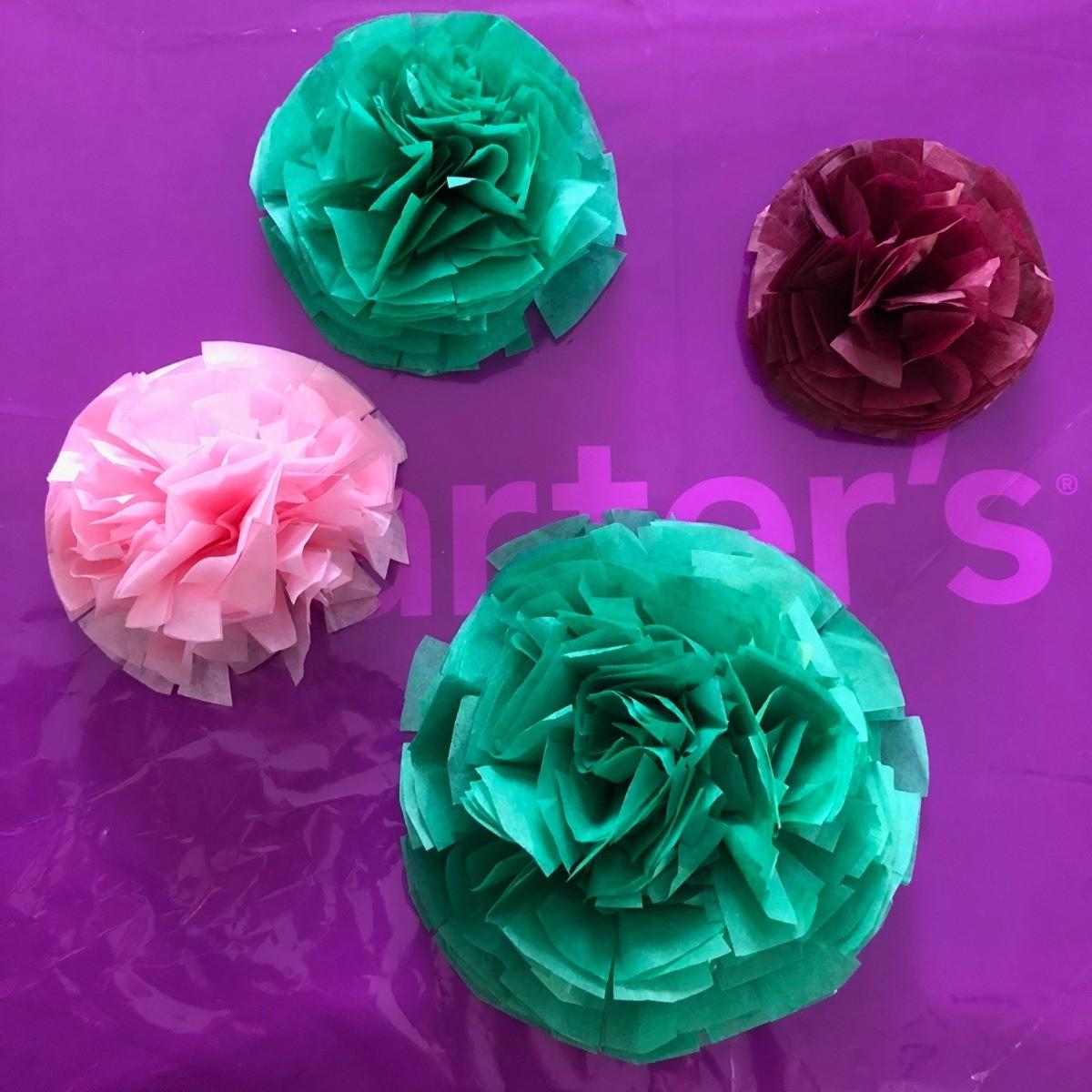Tissue Paper Flower Bow Thriftyfun