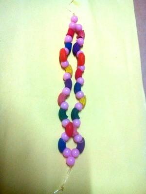 Pasta Bracelet - finished bracelet