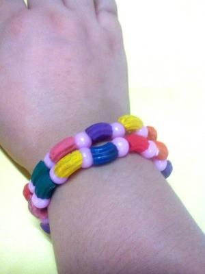 Pasta Bracelet - bracelet on wrist
