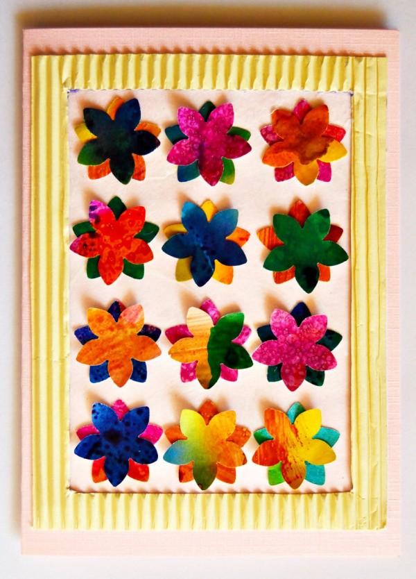Bunch Of Flowers Birthday Card Thriftyfun