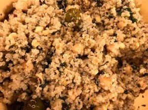 finished Quinoa Harissa