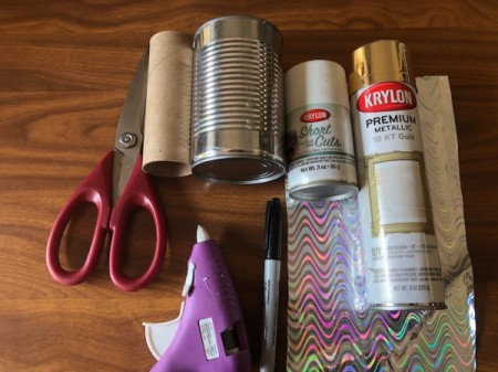 Tin Can Unicorn Planter - supplies