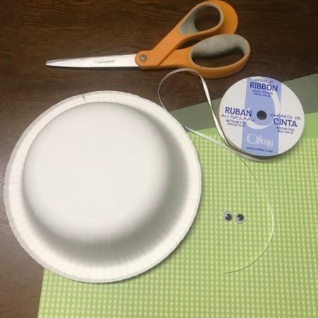 Paper Bowl Pet Turtle Decoration - supplies