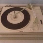 Value of a Zenith Solid State -Portable Record Player - record player