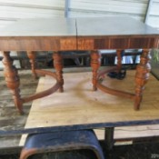 Value of a Stainless Steel Top Wooden Table