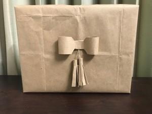 Simple Tassel Bow Gift Topper