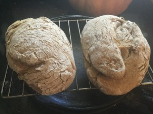 baked Walnut Potato Bread