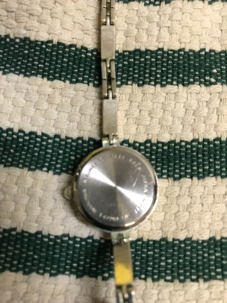 Replacing Your Watch Battery - place watch on a towel to protect the face