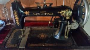 Model Number for a Vintage New Cottage Sewing Machine Question  1Model Number for a Vintage New Cottage Sewing Machine