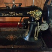 Model Number for a Vintage New Cottage Sewing Machine Question  1Model Number for a Vintage New Cottage Sewing Machine