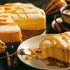 Pumpkin and Caramel Cheesecake.