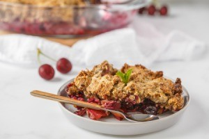 Cherry Crumble.