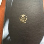 Value of 1946 Set of Encyclopedia  Britannica - cover of volume