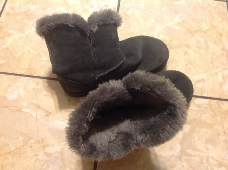 Cleaning Suede Boots with Faux Shearling Lining