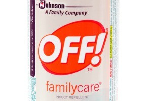 Close up of a can of Off! insect repellent.