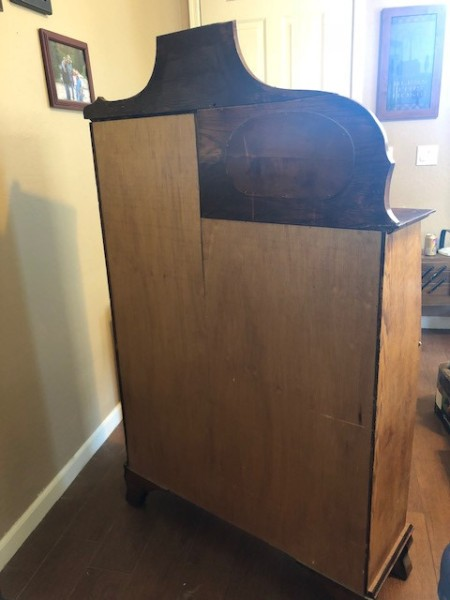 Selling an Antique Drop Down Desk