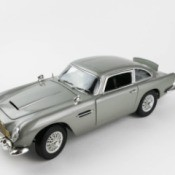 Model of 'Goldfinger' Aston Martin