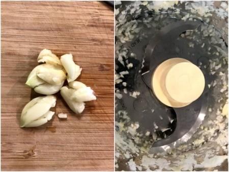 food processing garlic