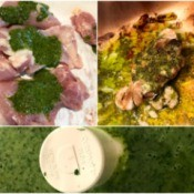 Chimichurri Inspired Sauce collage