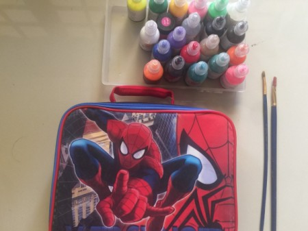 Revamping a Kid's Lunch Box - supplies