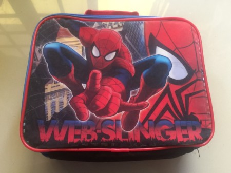 Revamping a Kid's Lunch Box - Spiderman lunchbox