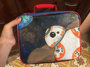 Revamping a Kid's Lunch Box - finished lunch box