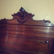 Value of Antique Bed  - ornate headboard
