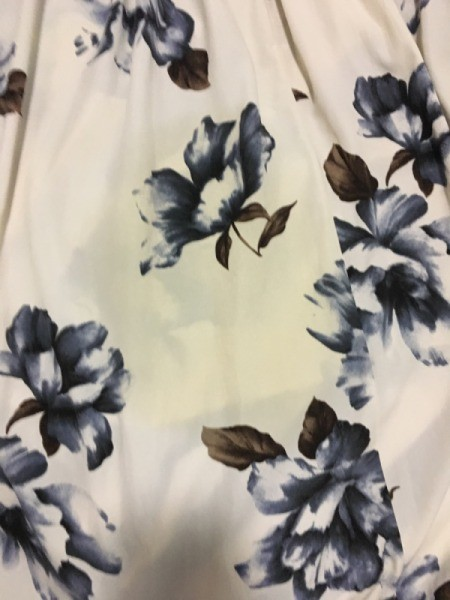 Removing a Stain on a Polyester Dress