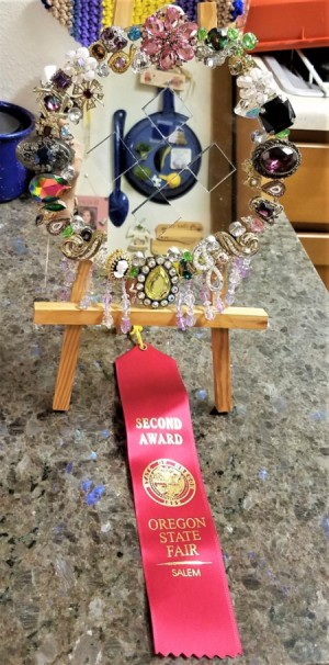 Bragging Rights! Second Place -State Fair - winning project