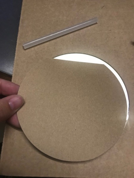 Standing CD Picture Frame - trace around the CD onto your paper