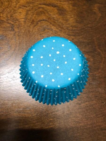 Ballerina Craft Stick - cupcake liner