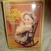 Identifying a Porcelain Doll - box with photo of the doll on the outside
