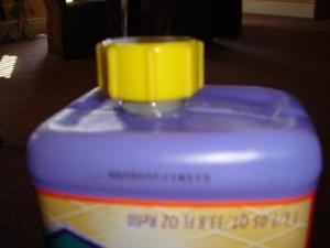 Refilling the Swiffer Bottle