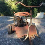 Value of an Old Reel Riding Mower - vintage mower