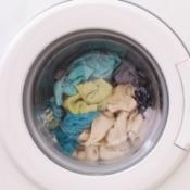 Full washing machine.