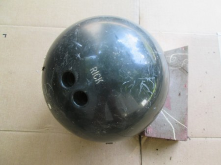 Making a Garden Orb from a Bowling Ball