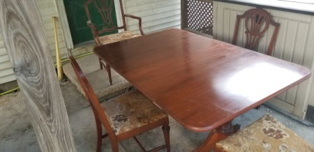 Value of a Dining Table and Chairs