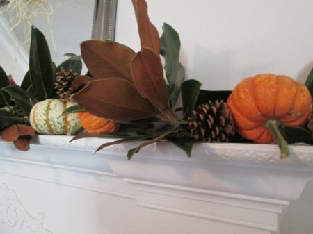 Using Natures Own For Decorations, While Going Green